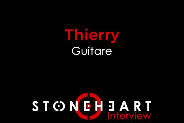 Interview - Thierry Guitariste de STONEHEART